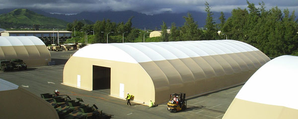Large Area Maintenance Shelter (LAMS)
