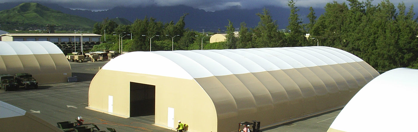 Expertly Engineered Fabric Shelters
