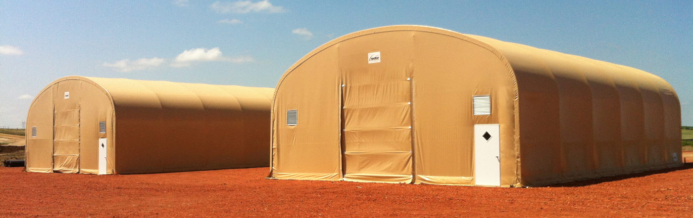 Fabric Shelters for All Climates